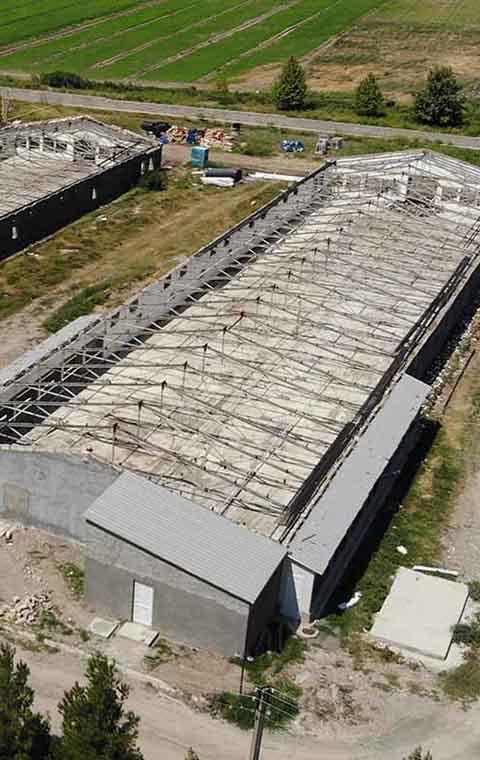 Modernization of poultry houses